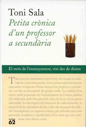 Petita crònica d'un professor a secundària – Toni Sala