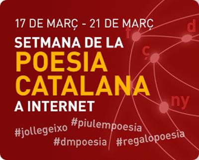 Setmana de la poesia en català a Internet 2015